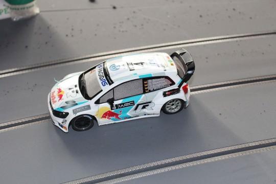 Der Einsatzwagen: Polo R WRC, aufgebaut von Niemas Racecars