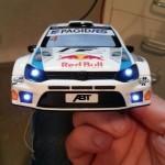 Böser Blick: der Polo R WRC in 1:24