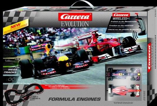 Carrera Formula Engines