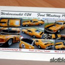 Werksresinekit 1/24 Ford Mustang 1970