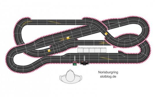 Festaufbau Carrerabahn