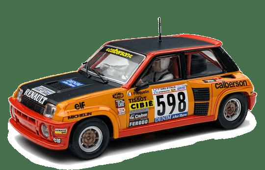 SCX Renault 5 Turbo Primer Rally 1979 ref INTA10198X300