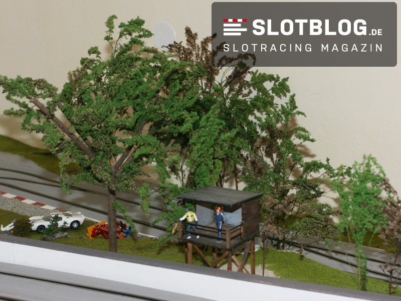 Baum Modellbau Autorennbahn