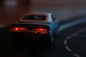 Dogde Charger mit Bremslicht