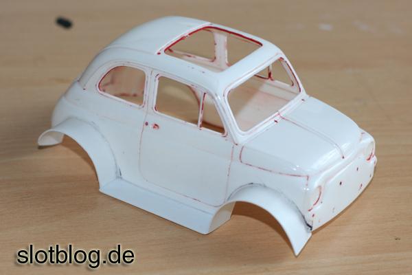 Fiat 500 als Slotcar - SlotBlog.de