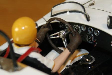 Instrumente der Shelby Cobra