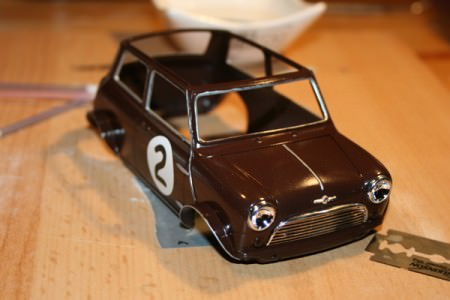 Mini Cooper Rohbau