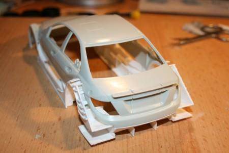 Revell DTM Mercedes - Karosseriebau