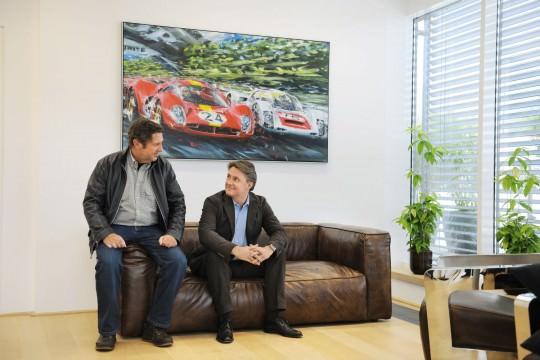 v.l. Dr. Dieter Stadlbauer, Andreas Stadlbauer