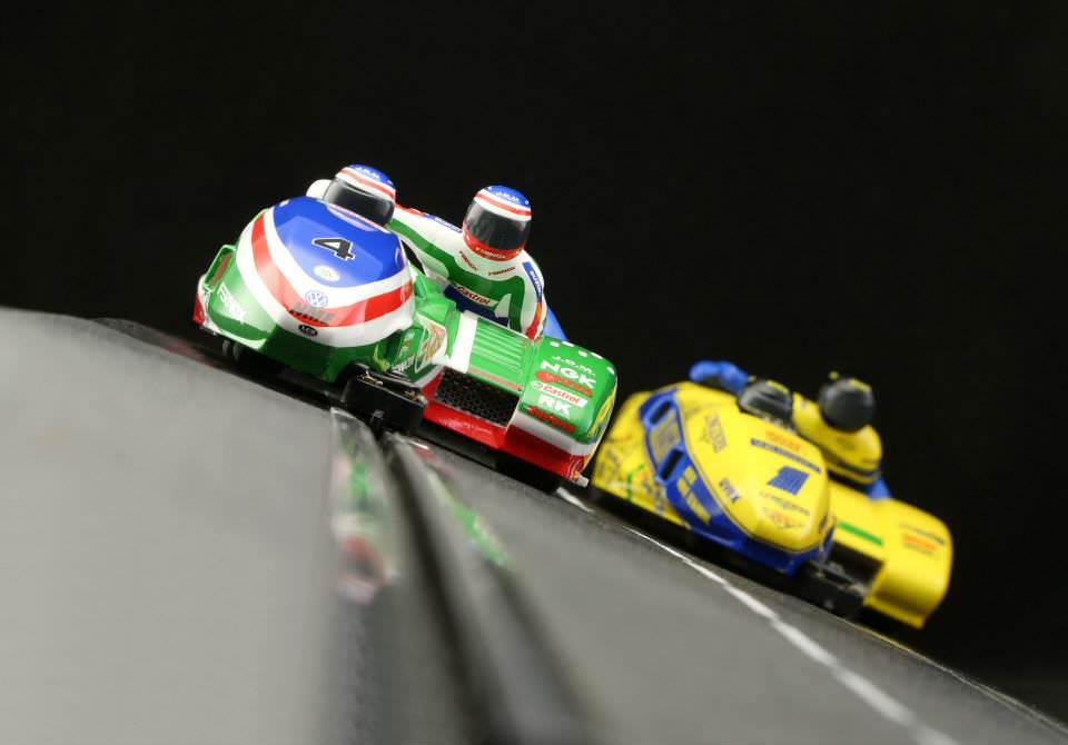 BRM Slot Sidecars im Maßstab 1:18