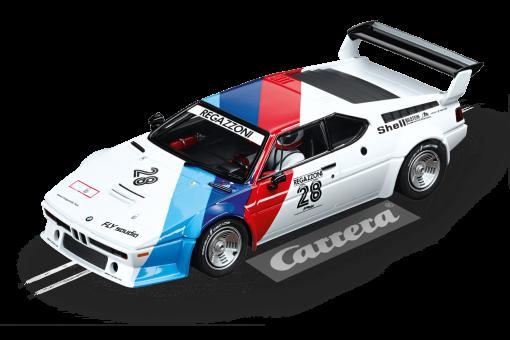 20023820 BMW M1 Procar Regazzoni No.28 1979 Carrera Digital 124