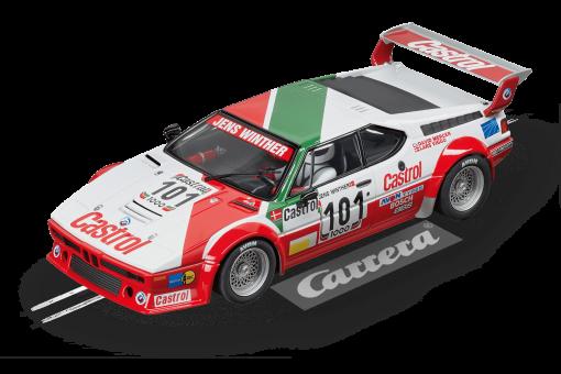 20023842 BMW M1 Procar Team Castrol Denmark No101 Carrera Digital 124
