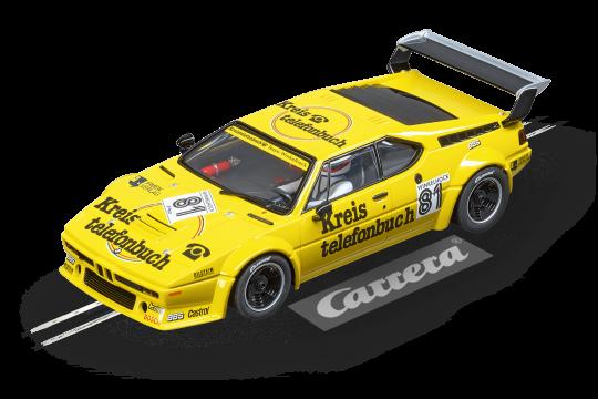 20023855 BMW M1 Procar Team Winkelhock No 81 1979 Carrera Digital 124