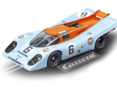 Porsche 917K J.W. Automotive Engineering No.6, Watkins Glen Test 1970 20023857 Carrera Digital 124