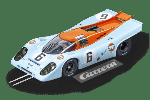 Porsche 917K J.W. Automotive Engineering No.6, Watkins Glen Test 1970 20023857 Carrera Digital 124