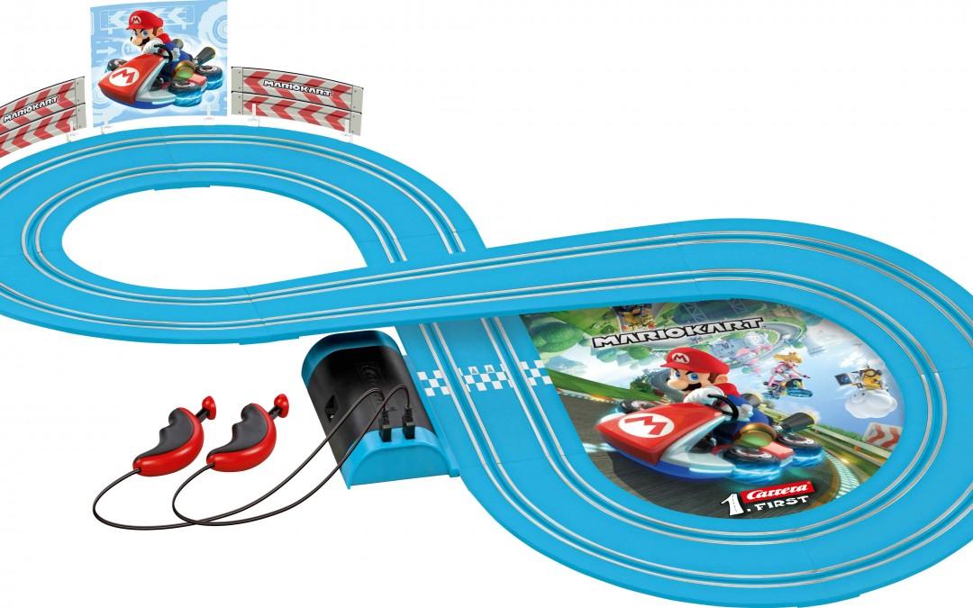 Carrera FIRST: Autorennbahn-Spielspaß für kleine Nachwuchs-Racer