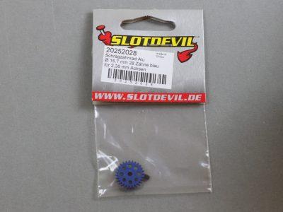 20252028 SlotDevil Schrägzahnrad 28 Zähne für 2,38 mm 15,7 mm Achsen lila