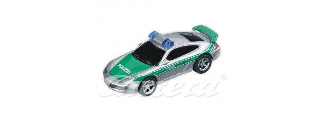 Carrera 61112 GO!!! Porsche GT3 Polizei silber/grün SlotCar 1:43