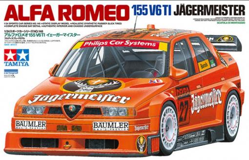 ALFA ROMEO 155 V6 TI - Tamiya 124 TAM24148