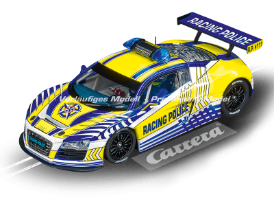 Audi R8 LMS Carrera Racing Police Digital 124 20023880