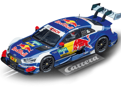 Audi RS 5 DTM M.Ekström Red Bull No.5 20023846 Carrera Digital 124