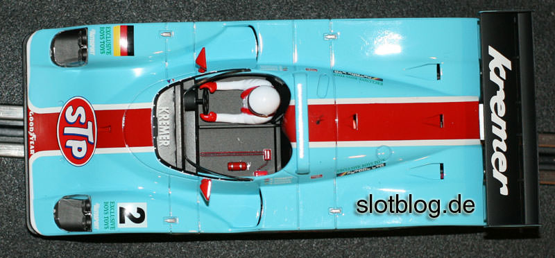 Avant Slot Porsche Kremer CK8 auf Carrera Digital 132