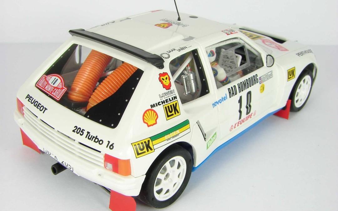 Peugeot 205 T16 Evo1 Mouton-Harryman Montecarlo 86