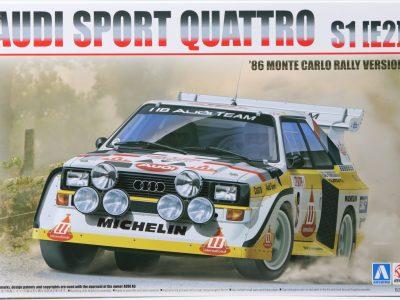 BEEMAX Audi Quattro S1 Rallye Monte Carlo 1986 No. 6 in 124