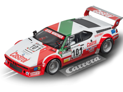 BMW M1 Procar Team Castrol Denmark, No.101 20023842 Carrera Digital 124