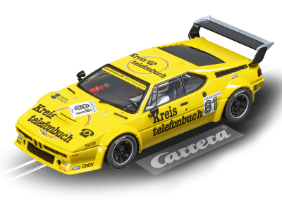 BMW M1 Procar Team Winkelhock, No.81 1979 20023855 Carrera Digital 124