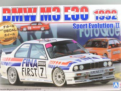 BMW M3 DTM 1992 No. 7 No. 20 Aoshima Beemax