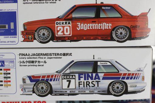BMW M3 DTM 1992 No. 7 No. 20 Aoshima Beemax Decals