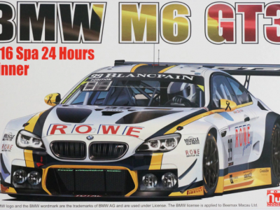 BMW M6 GT3 24H SPA 2016 Winner