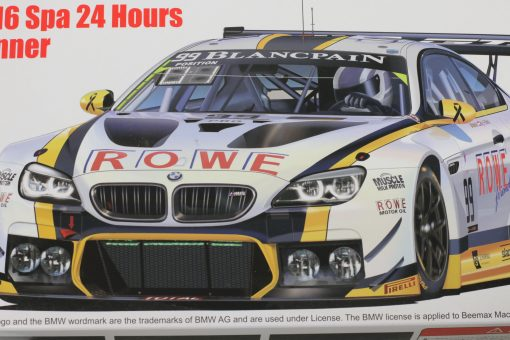 BMW M6 GT3 24H SPA 2016 Winner Platz