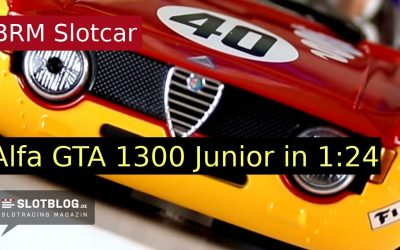 BRM Alfa 1300 GTA Junior – Vorstellung