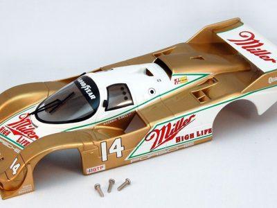 BRM Gruppe C Karosserie Porsche 962 IMSA 1988 No. 1 für Slotcars in 1 24
