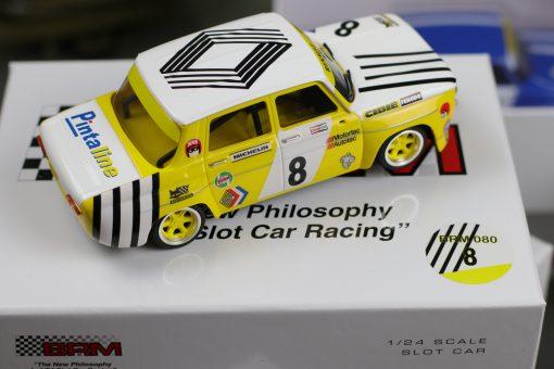 BRM Renault Gordini 124 Nr 8 BRM 080