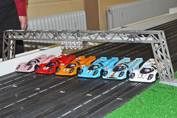 Geplante Rennserie mit BRM Porsche 917 und Ferrari 512
