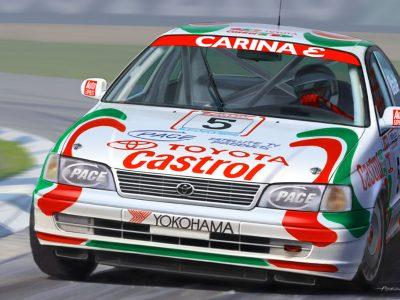Beemax 24024 Toyota Carina ST 191 BTCC 1994 No. 5