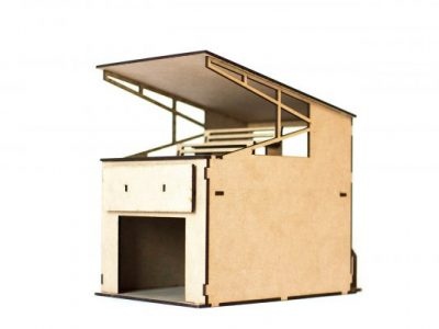 Box mit Tribüne PSR0203
