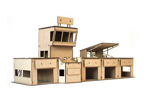 Box mit Tribüne PSR0203 Ausbauvorschlag