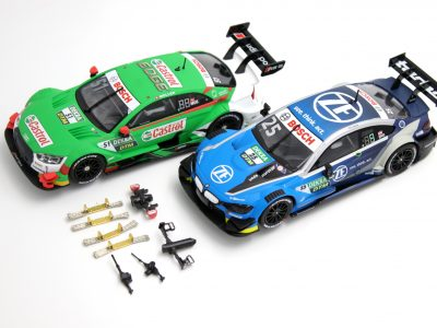 Bundle Carrera Evolution BMW M4 DTM und Audi RS 5 DTM (ohne Displaybox)