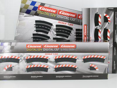 Bundle Carrera Kurve 2 inkl. Innen- und Außenrandstreifen