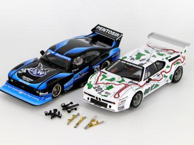 Bundle Ford Capri Zakspeed Turbo 23859 und BMW M1 Procar 23854