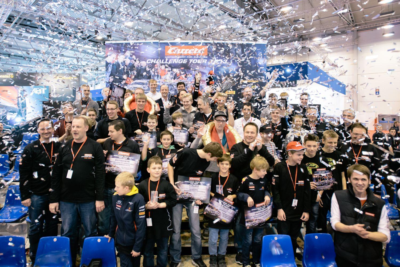 Spektakuläres Finale der Carrera Challenge Tour 2013