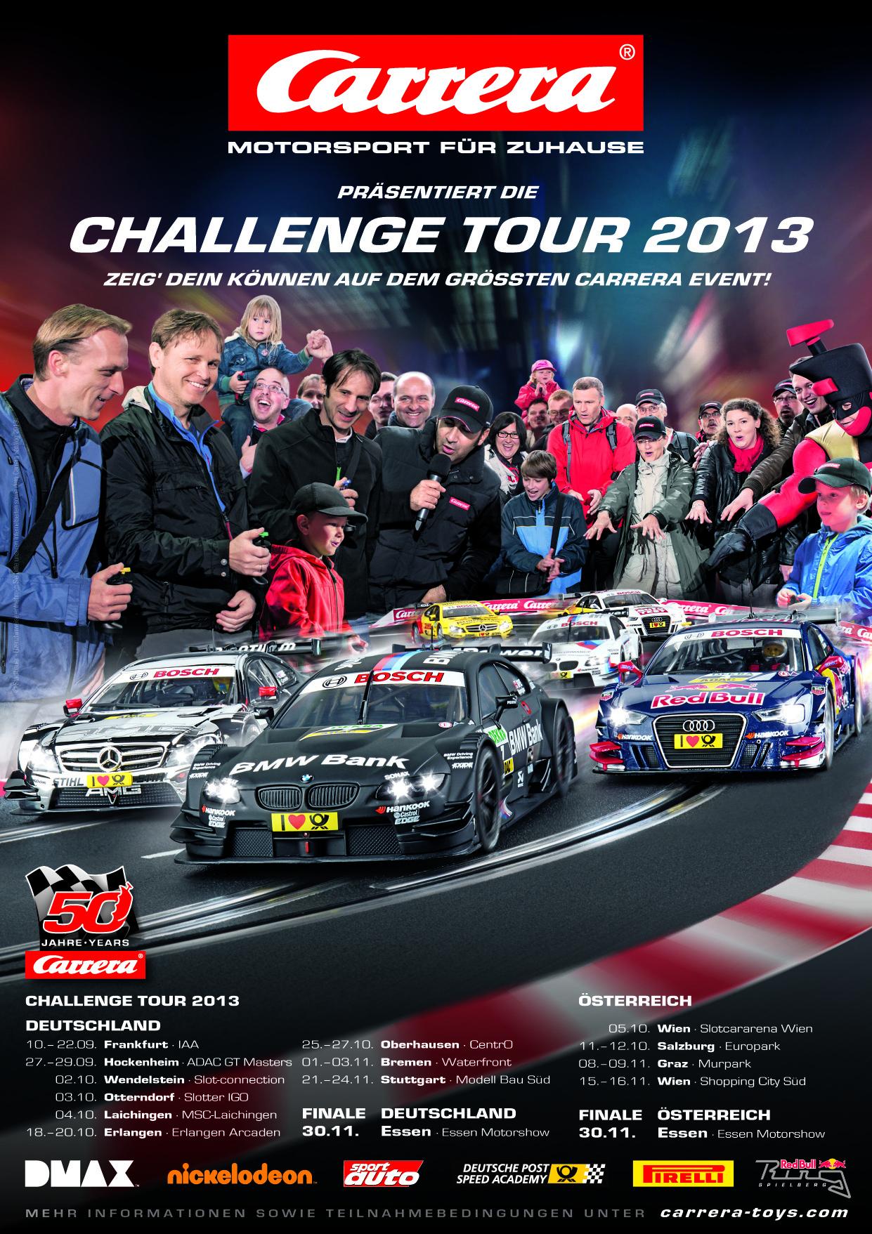 Finale Carrera Challenge Tour 2013