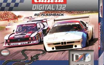 Carrera DIGITAL 132 – 80´Flashback  Back to the eighties