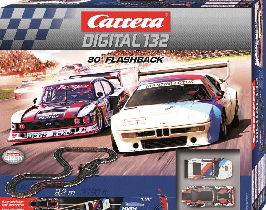 Carrera DIGITAL 132 – 80´Flashback  Back to the eighties