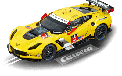 "Carrera Digital 132 Chevrolet Corvette C7.R ""No.3"" 30701"