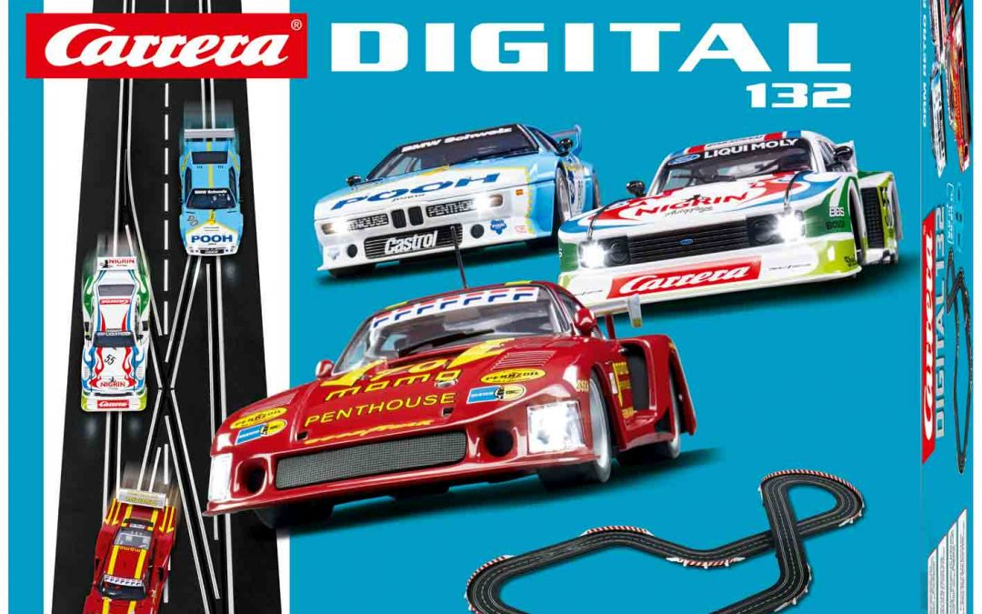 Carrera Neuheiten 2018 im Bereich Retro-Racing